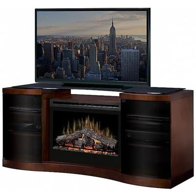 Dimplex Acton Electric Fireplace Media Console Video Image - Dimplex Acton Electric Fireplace Media Console - GDS331246WAL
