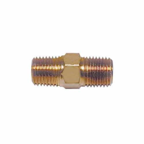 Connector Nipple 1  x 1/4  NPT - Right Hand Threads