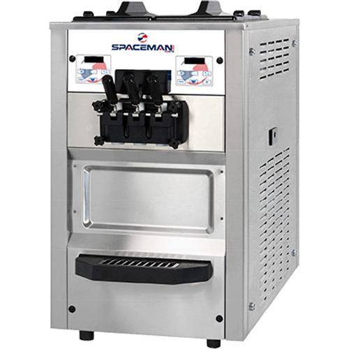 Countertop Soft Serve Ice Cream Machine- 48 qt/hr (6235H Spaceman ...