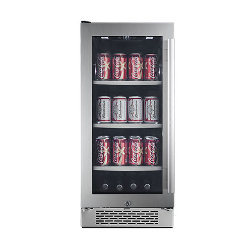 Avallon Built-in Beverage Refrigerator Holds 86 Cans of Beer or Soda