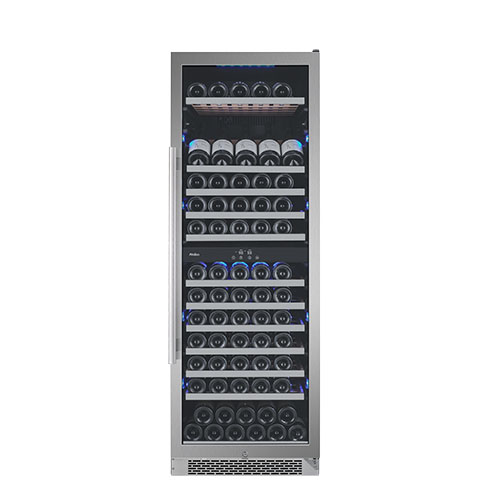 Avallon 141 Bottle Dual Zone Built-In Wine Cooler - AWC241TDZRH