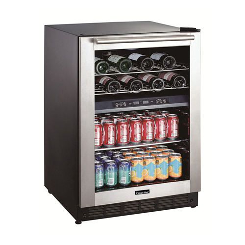 Magic Chef Built-In Dual Zone Wine and Beverage Cooler - BTWB530ST