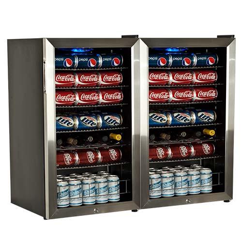 EdgeStar Ultra Low Temperature Beverage Cooler - BWC120SSLTDUAL