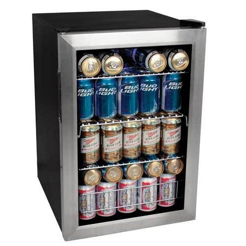 EdgeStar Beverage Refrigerator that holds 84-Cans of Soda or Beer