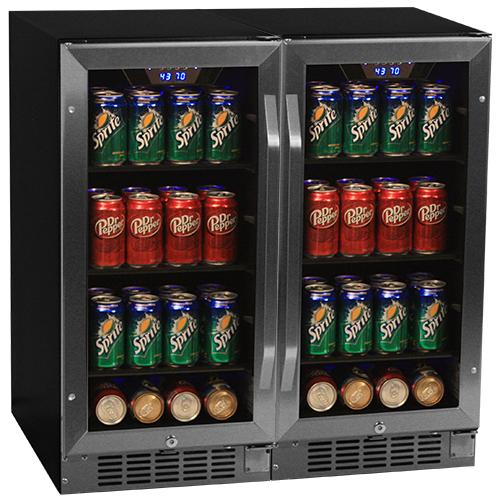 EdgeStar Built-in Beverage Refrigerator Holds 160 Cans