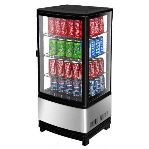 Turbo Air Countertop Diamond Showcase Merchandiser for Soda and Beer