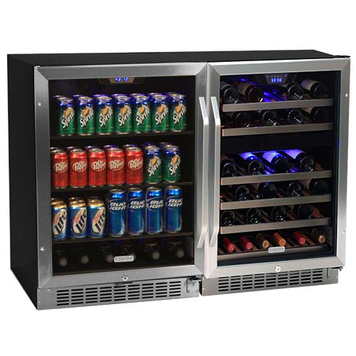 EdgeStar Side-by-Side Wine & Beverage Center - CWBV14846