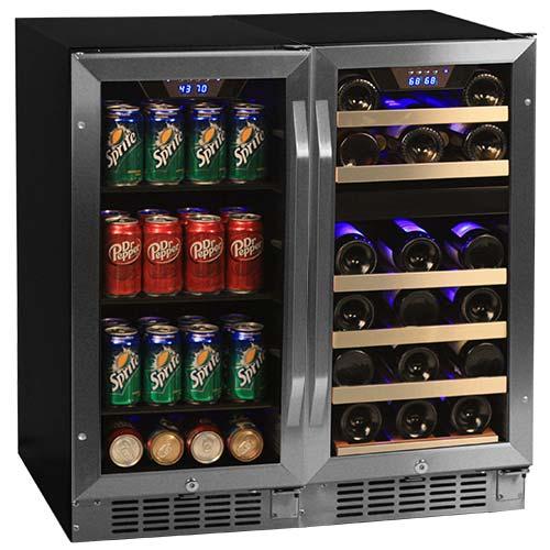 EdgeStar ide-by-Side Wine & Beverage Center - CWBV8026