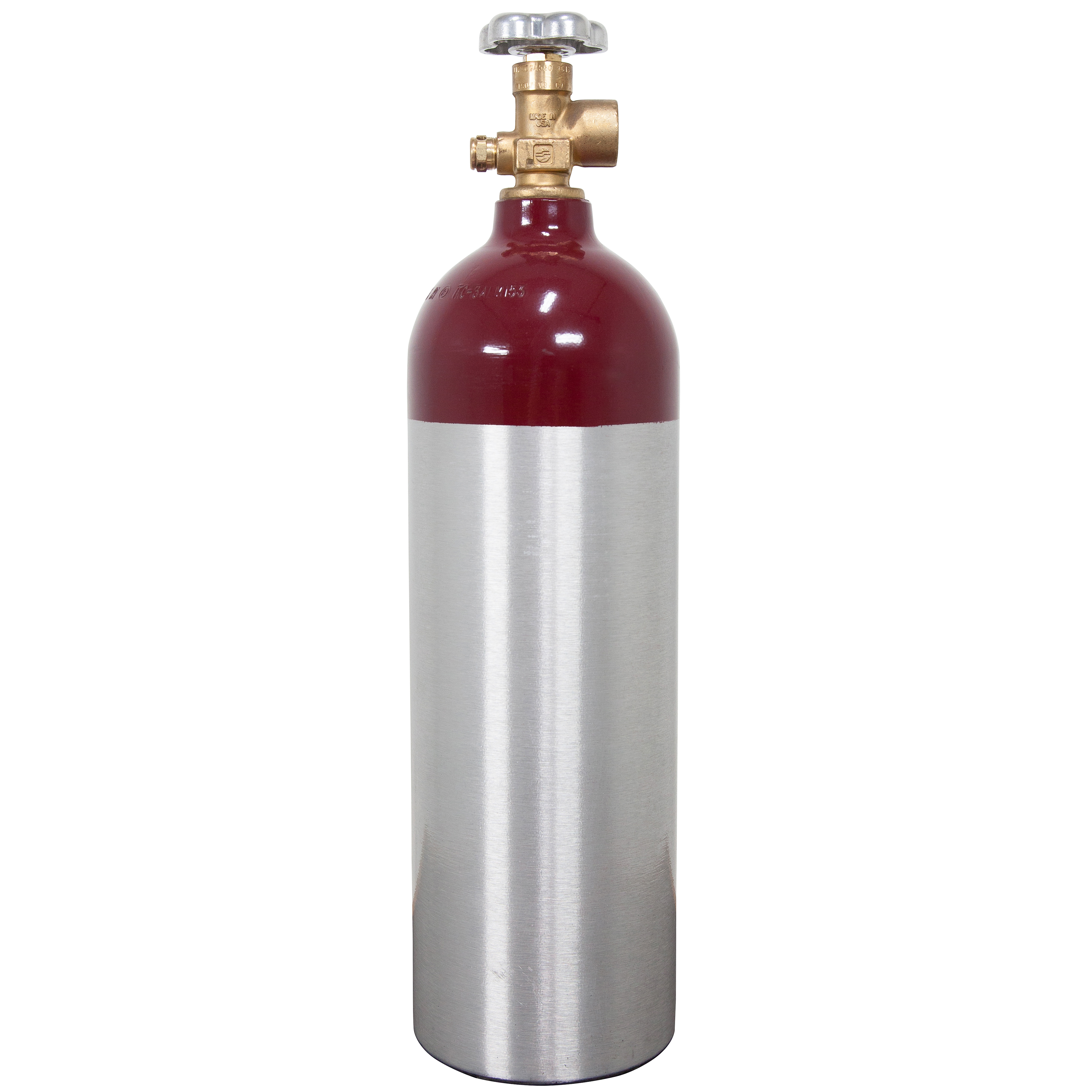 Luxfer Nitrogen Tank for Kegerators and Beverage Dispenser - Aluminum