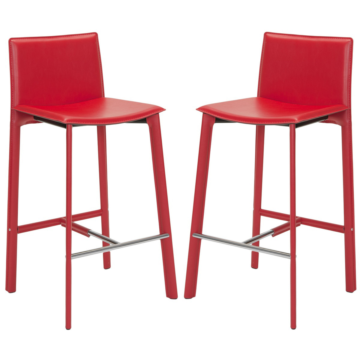 Janet 30  Barstool Set of 2 in Red