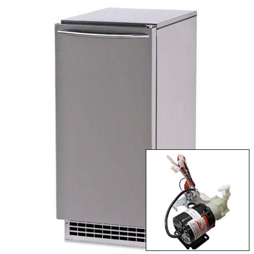 Ice-O-Matic 85 lb. Nugget Ice Machine and Pump Kit - GEMU090P