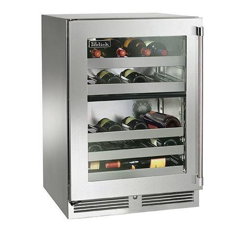 Perlick Built-In Dual Zone Indoor Wine Reserve - HP24DS-3-4L