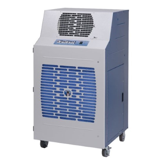 Industrial Portable Ac : Kwikool btu water cooled commercial portable air