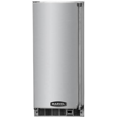 Marvel Professional 15 Inch Indoor Clear Ice Maker with Stainless Steel Door