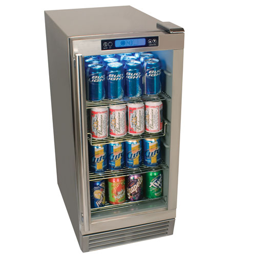 EdgeStar 84 Can Outdoor Beverage Refrigerator - OBR900SS
