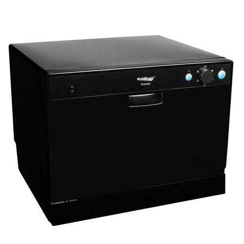 Countertop Dishwasher Made In Usa : ... Place Setting Countertop Dishwasher - Black (PDW60EB) photo
