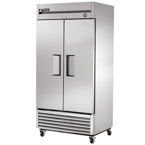 True 35 Cu. Ft. Reach-In Solid Dual Door Freezer