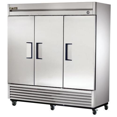 True 72 Cu. Ft. Reach- In Solid Triple Door Freezer