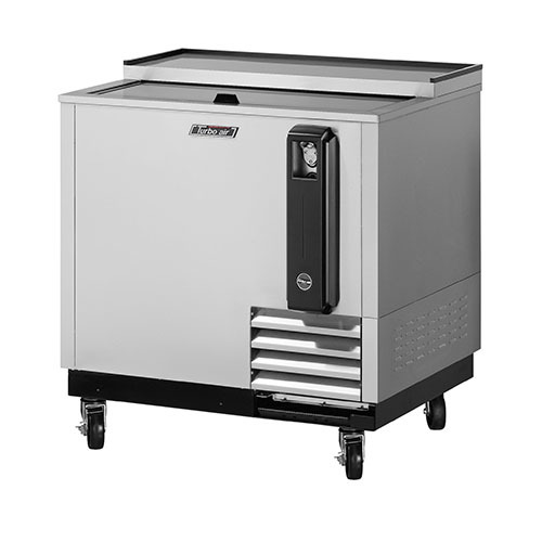 Turbo Air 36  Super Deluxe Stainless Steel Bottle Cooler