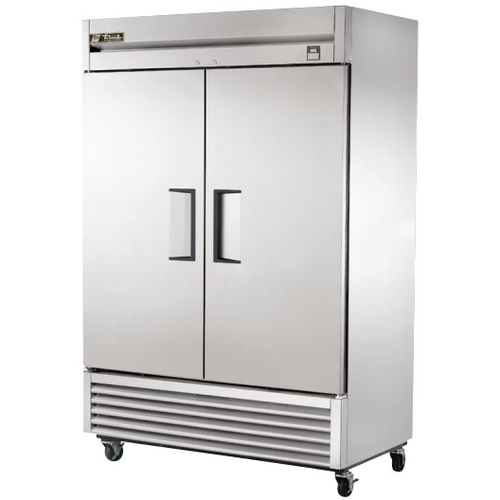 True 49 Cu. Ft. Reach-In Solid Dual Door Stainless Steel Freezer