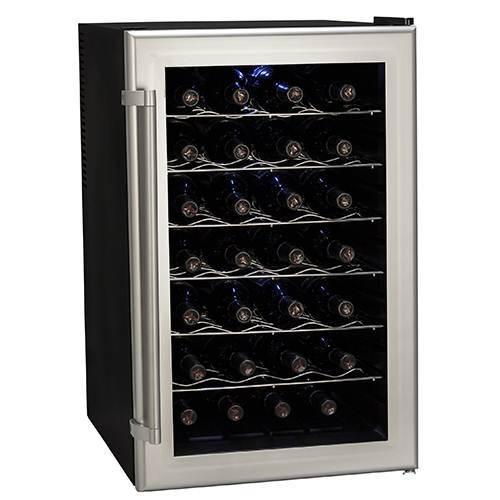 Koldfront 28 Bottle Freestanding Single Zone Wine Cooler - TWR282S