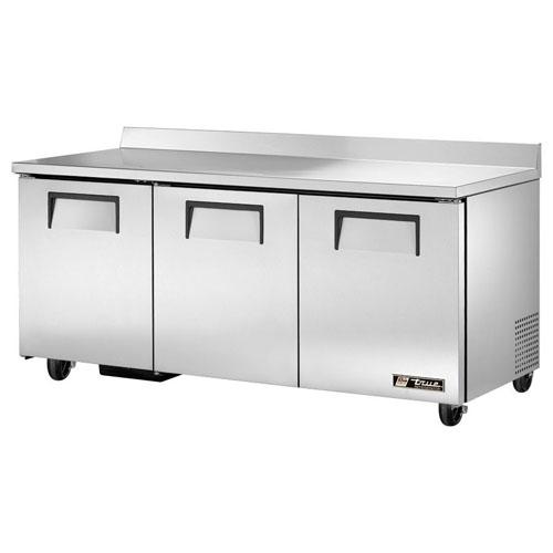 True 72  Worktop Refrigerator