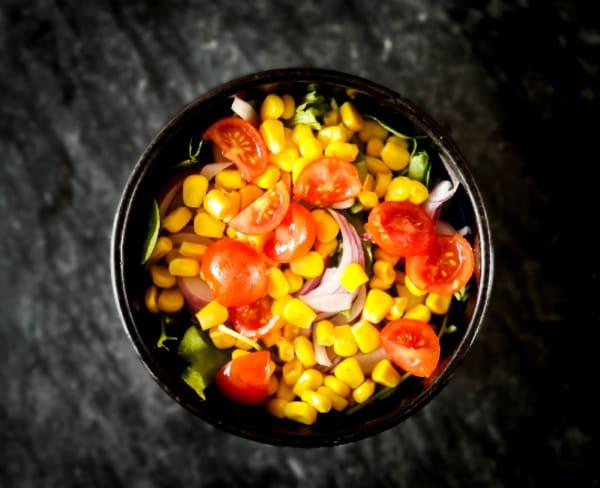 Salada sem molho