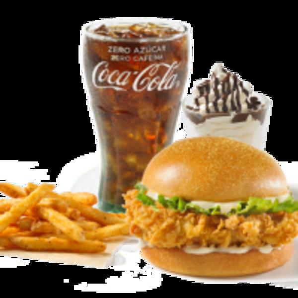 Kids Menu Classic Burger