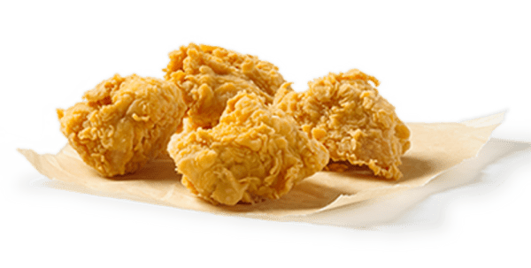 4 Nuggets Crujientes