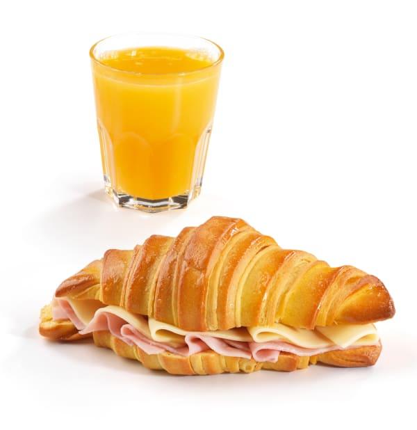 Menu Croissant Recheado
