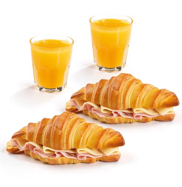 Menu Croissant Duo