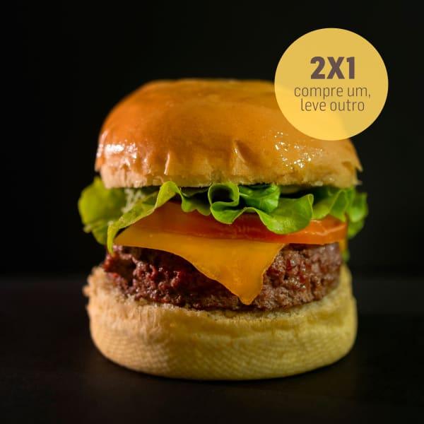 2 X 1 Hambúrguer Clássico