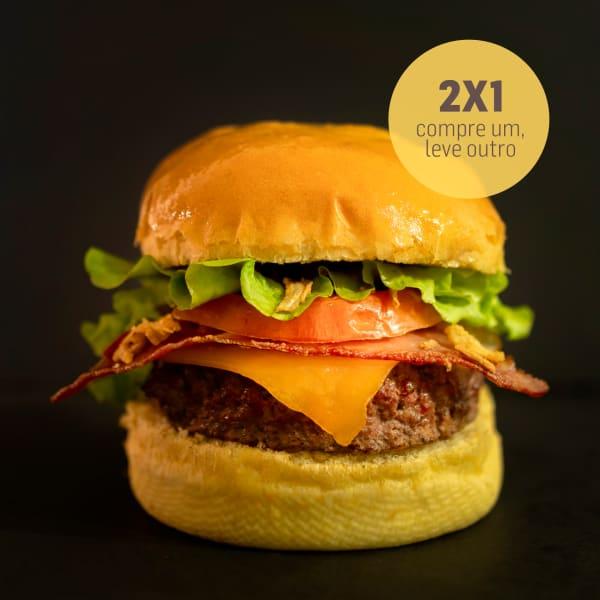2 X 1 Hambúrguer Barbecue
