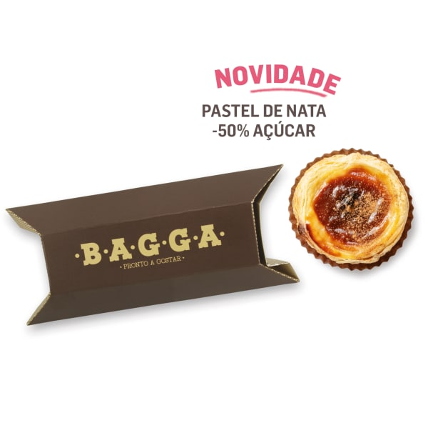 Pastel de Nata -50% Açucar
