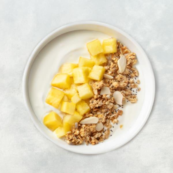 Iogurte, Abacaxi e Granola