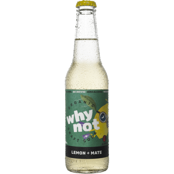 Why not - Limão e mate 330ml