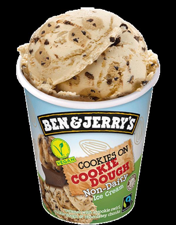 Ben&Jerry's Cookies on Cookie Dough Vegan 465ml