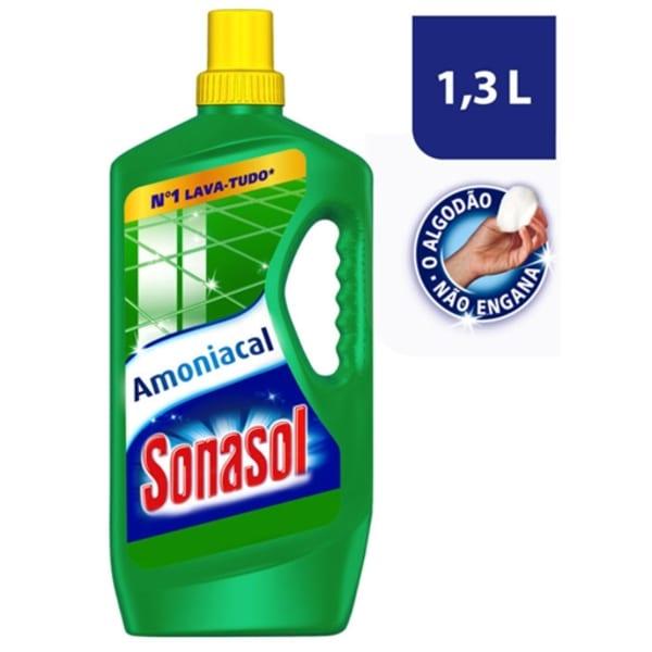 Lava tudo amoniacal Sonasol 1,3L