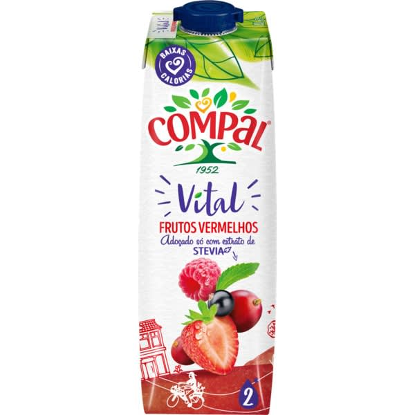 Compal Vital frutos vermelhos 1l
