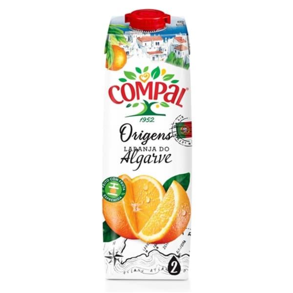 Compal laranja do Algarve 1l