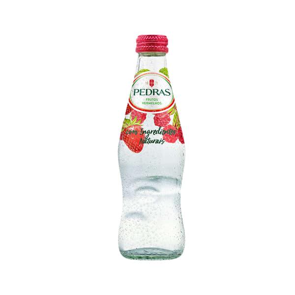 Água c/ gás Pedras frutos vermelhos 25cl