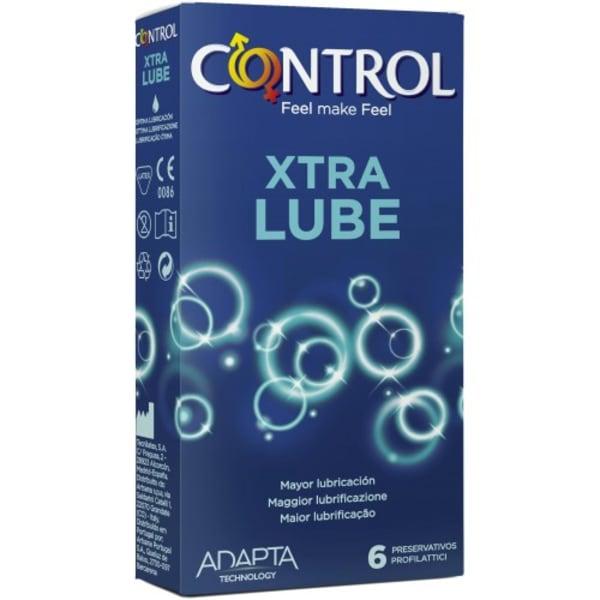 Control Extra Lube 6 preservativos