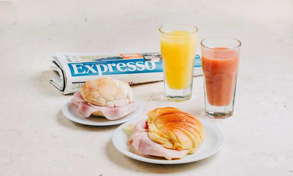 Jornal Expresso + 2 Menus Pequeno-Almoço