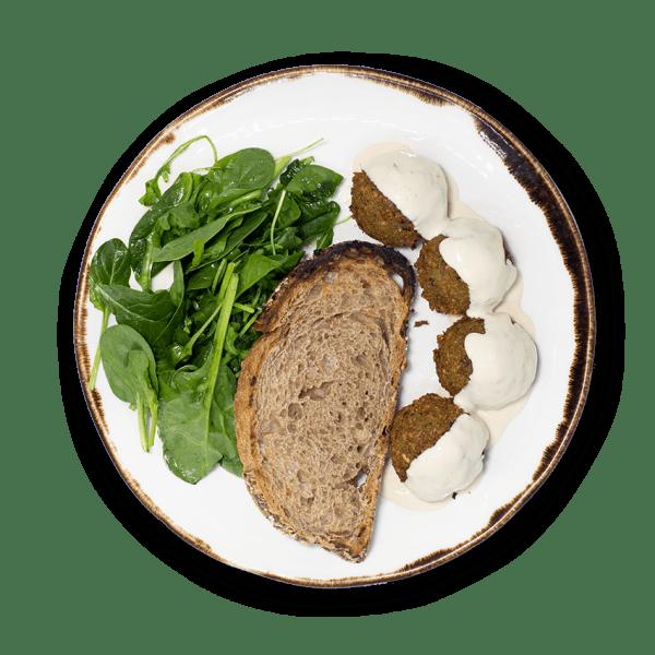 Falafel com Molho Tahini