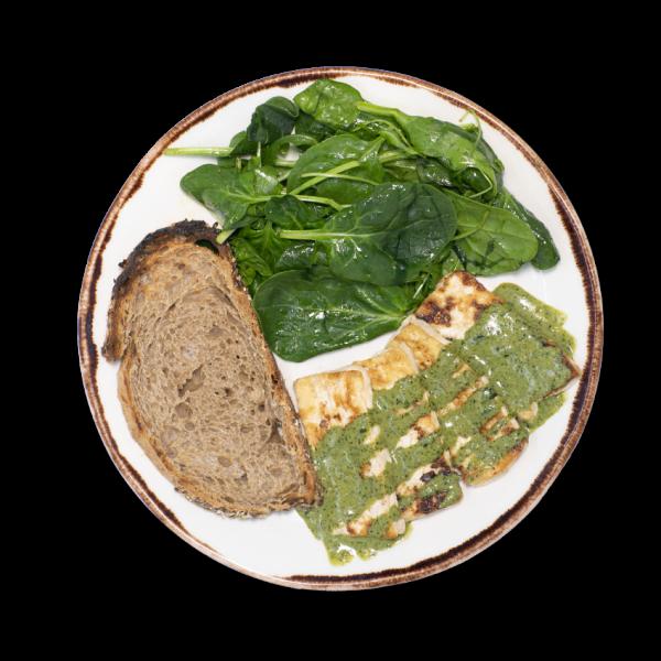 Tofu Fresco com Molho de Ervas