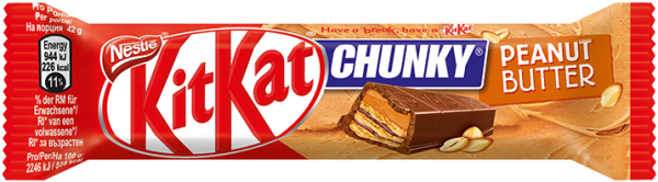 Kit Kat Chunky Peanut Butter 42gr