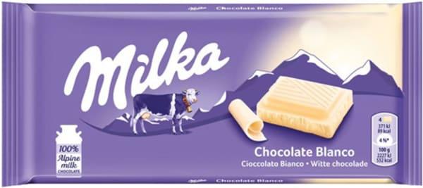 Milka Chocolate Branco 100gr