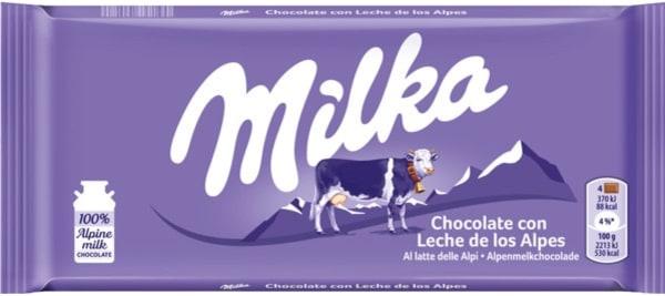 Milka Chocolate de Leite 100gr