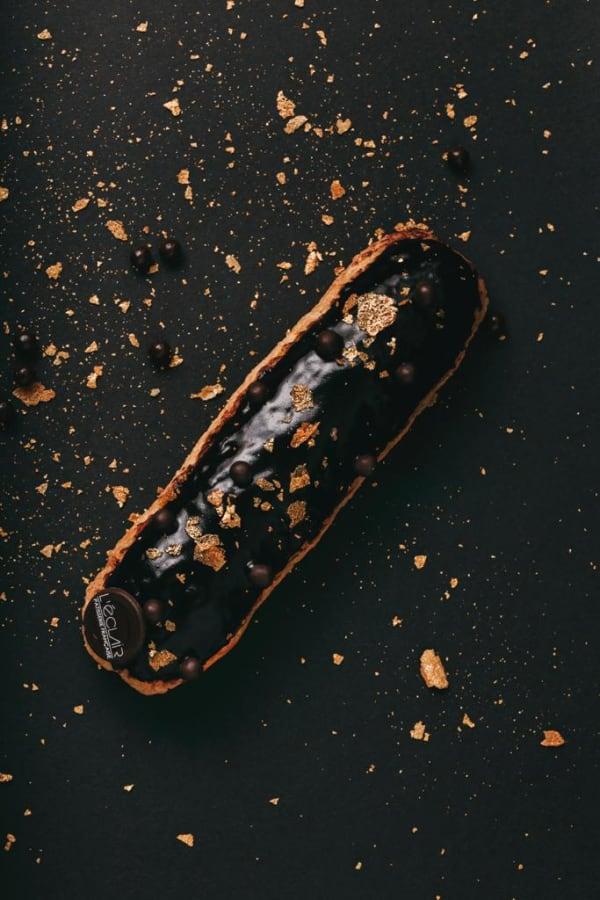 Éclair de Chocolate Negro