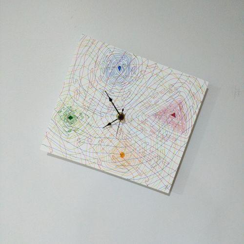 Timepiece (2018). Medium - Marker on paper.